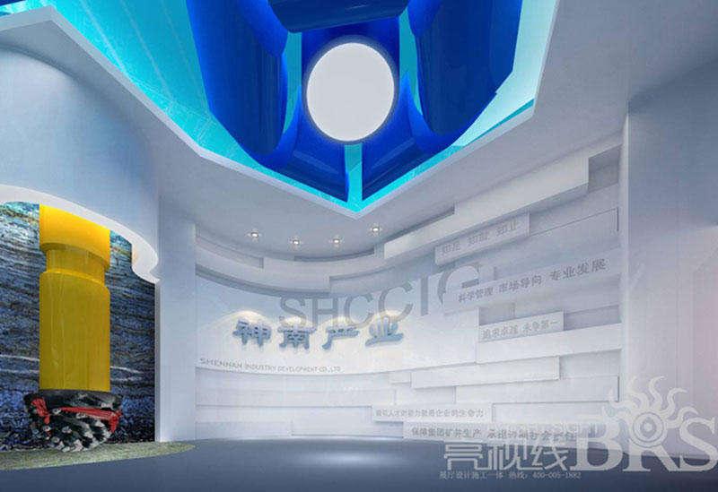 展厅展板平面设计中的画字图形