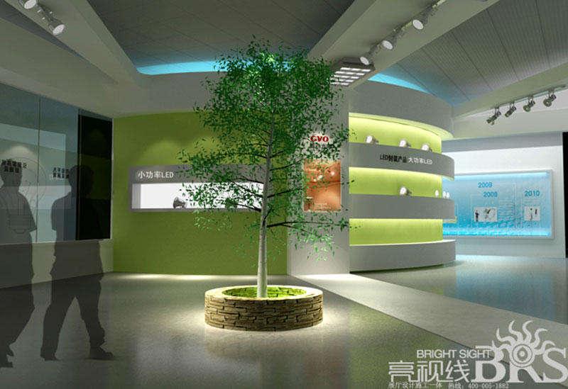 汽车配件展厅设计-北京亮视线