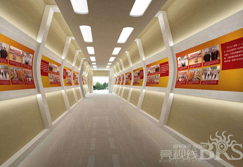 天津中石油智能培训企业展厅设计