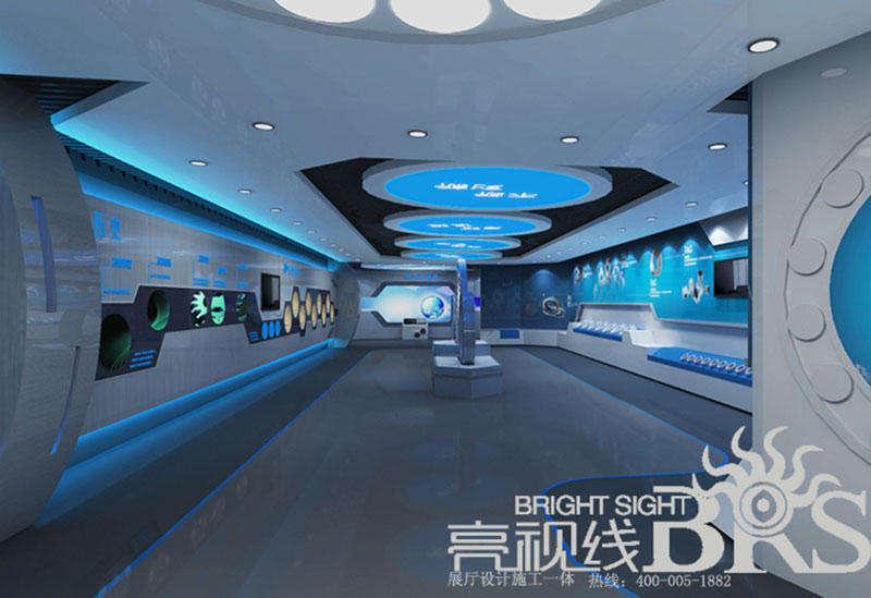 澳康联企业展厅设计