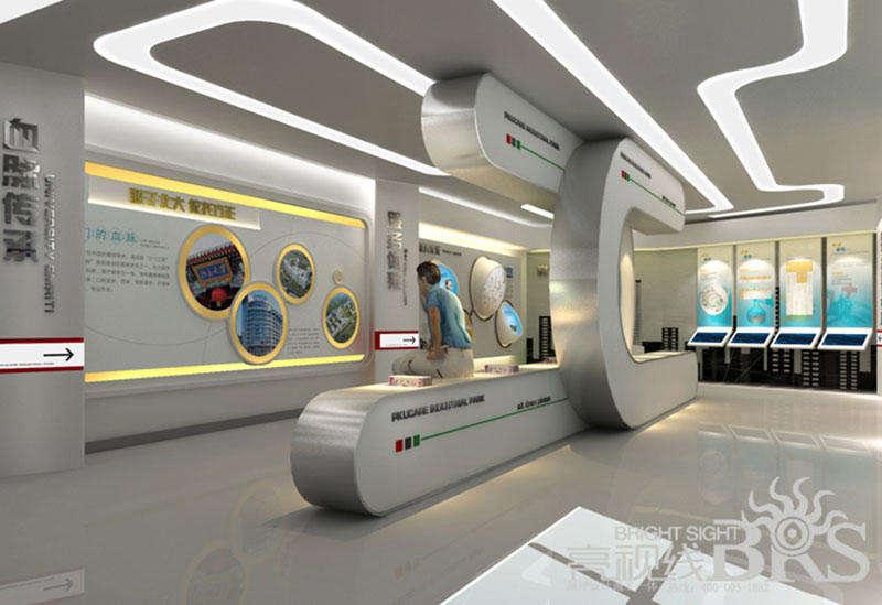 计算机网络技术的v展厅使具有展厅数字元素包装设计中国与无限虚拟图片