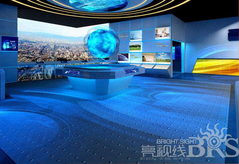 湖南韶山智能电网展厅 电力展厅设计应挖掘企业品牌的文化理念及产品的文化背景,无论是灯光、色彩、音乐、图片、服务都与企业文化理念的亮点渲染发生联系,在这些错综复杂的联系中去寻求一个共同的支点,独特的风格便呈现出来。 另外,电力企业展示馆所拥有的企业文化内涵能感染所有来参观的观众,让观众切身体验企业宝贵的无形资产,很多时候企业独有的文化理念可以促进产品的销售。反过来,独具特色的电力企业展示馆的设计不仅可以很好体现企业的风格和衬托出品牌主题,而且有力推动整个电力企业在文化理念上的提升。 总而言之,电力企业展