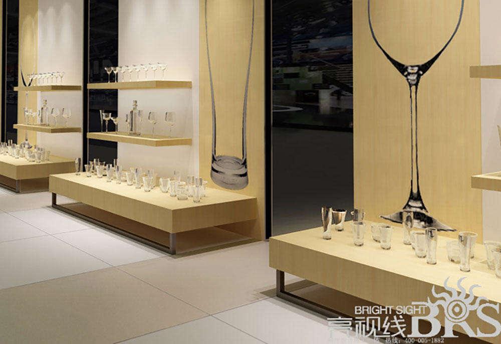 玻璃器皿产品展厅设计