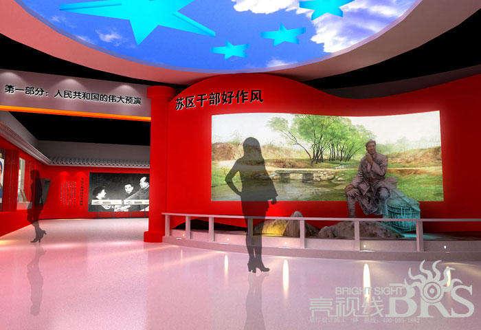 红色文化展厅_红色文化宣传手抄报