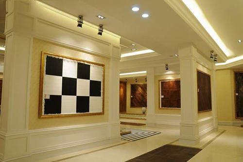 地板企业展厅设计效果图欣赏-北京亮视线