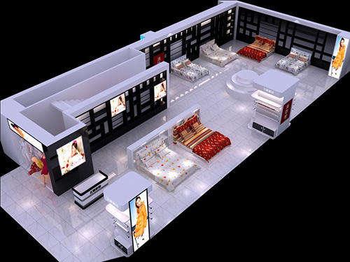 家纺展厅企业哈工大机械设计年薪设计欣赏图片