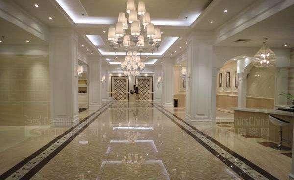 瓷磚展廳設計之純樸風格