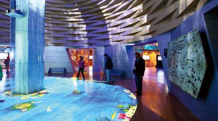 互动投影-展厅设计公司|企业展厅|虚拟展厅|网上展厅